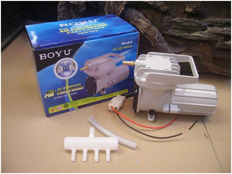 12 Volt Air Pump BOYU ACQ-902